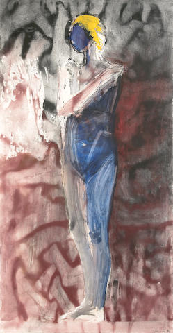 (n/a) Manuel Neri (American, born 1930) Ter Fome Series IV, 1997 87 x 46in