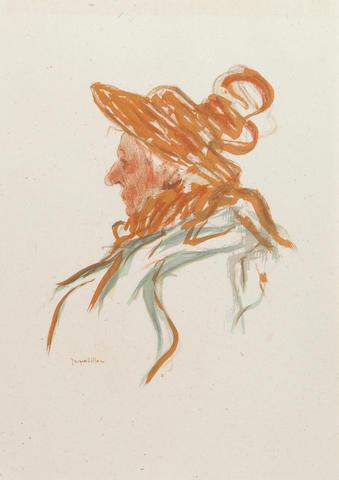 Jacques Villon (French, 1875-1963); Impressions dessinées d'après nature; (10)