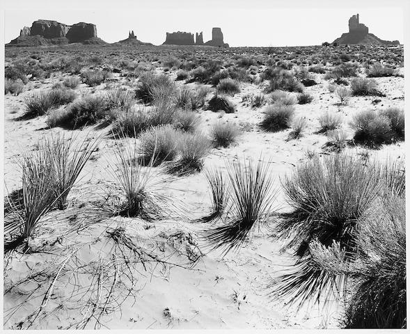 Ansel Adams (American, 1902-1984); Monument Valley, Arizona;