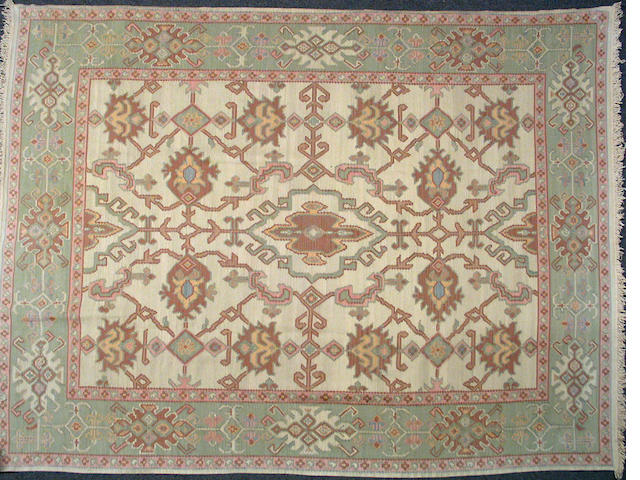 A Kilim carpet size approximately 8ft. x 10ft. 6in.