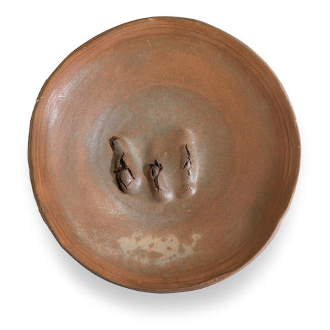 Peter Voulkos (American, 1924-2002) Untitled (Plate), 1987 diameter 20in