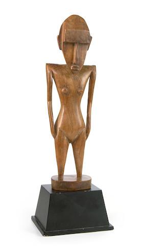 A Sikiana wooden figure