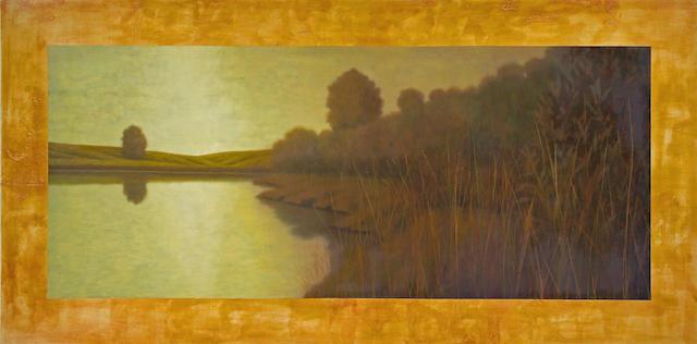 Wade Hoefer (American, born 1951) Concordes II, 1996 72 x 144in