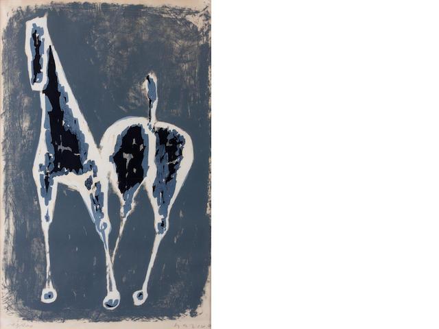 Marino Marini (Italian, 1901-1980); Cavallo;