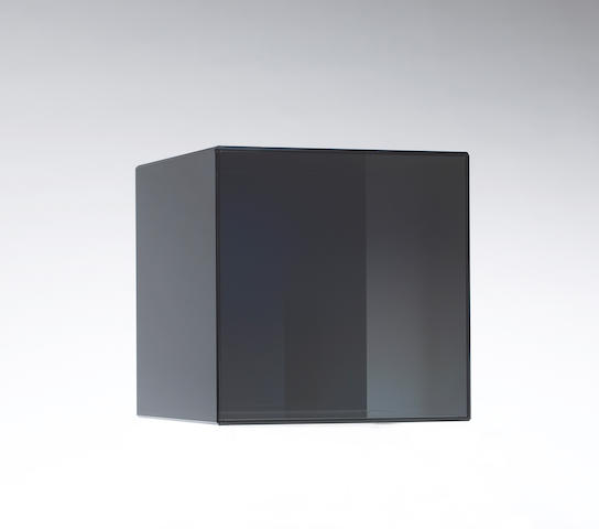 Larry Bell (American, born 1939) Cube 28, 2008 12 x 12 x 12in