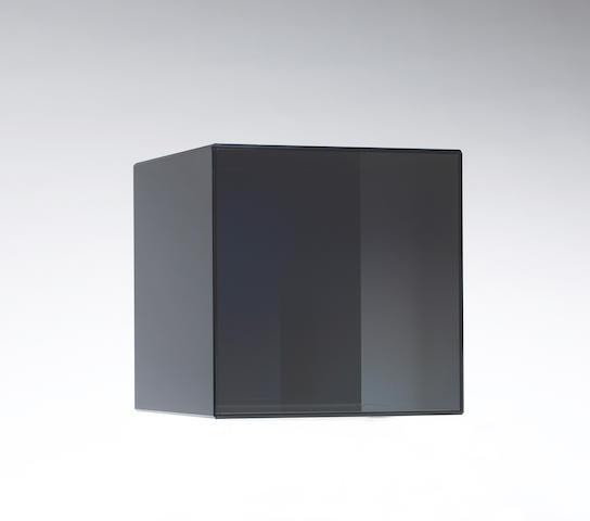 Larry Bell (American, born 1939) Cube 28, 2008 12 x 12 x 12in