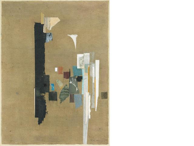 William  Dole (American, 1917-1983) In the Mirror, 1962 19 1/4 x 13 3/4in