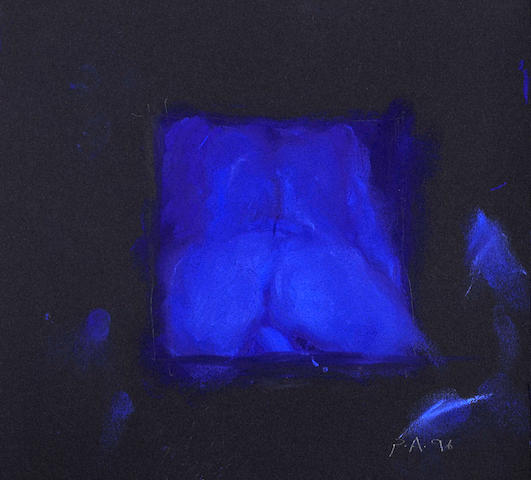 Peter Alexander (American, born 1939) Watching Blue Cindy, 1996 9 x 10in