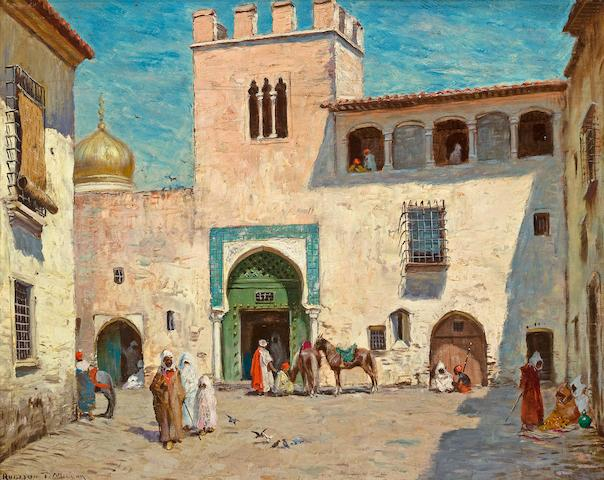 Addison Thomas Millar (American, 1860-1913) The messenger; The palace of Basha, a pair each