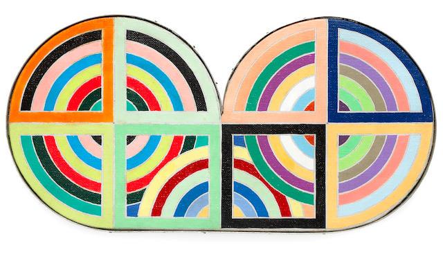 Richard Pettibone (American, born 1938) Frank Stella, 1969 4 x 8 1/4in