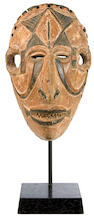 An Ibo mask  height 8in