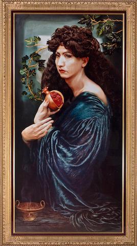 Yasumasa Morimura (Japanese, 1951) Portrait (Pomegrante), 1991 overall dimensions 88 1/4 x 49in (224.2 x 125cm)