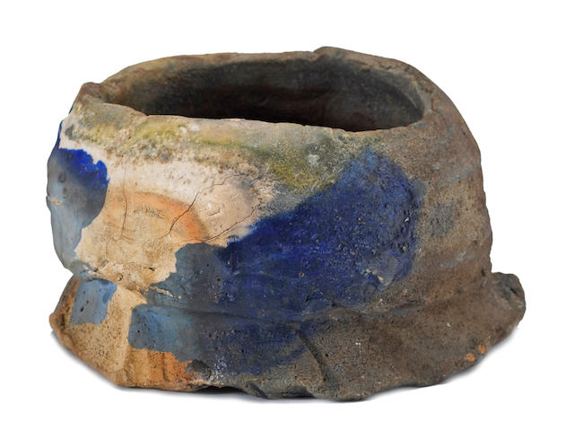 Peter Voulkos (American, 1924-2002) Untitled (Tea Bowl), 1990 4 x 7 x 6 3/4in