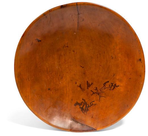 A circular Kou platter height 2in; diameter 14in
