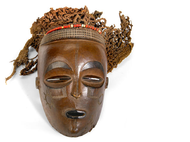 A Chokwe mask height 8in