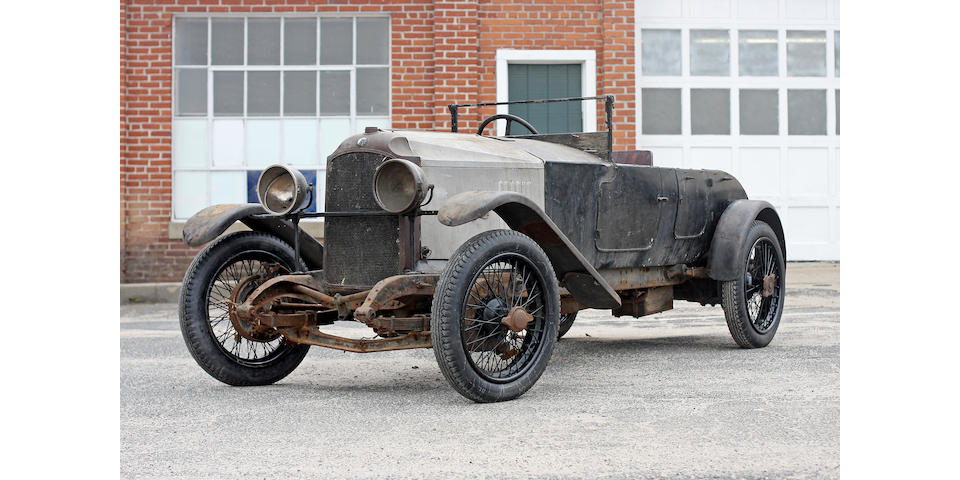 From the Estate of the late Richard Bull,1922 Vauxhall  30-98 OE Tourer