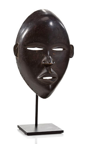 A Dan mask, Ivory Coast
