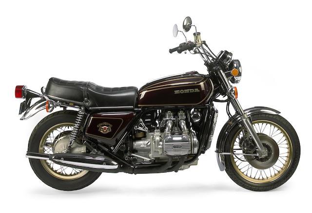 Bonhams : 1976 Honda Gold Wing Limited Edition Frame no. GL1-2036641 ...