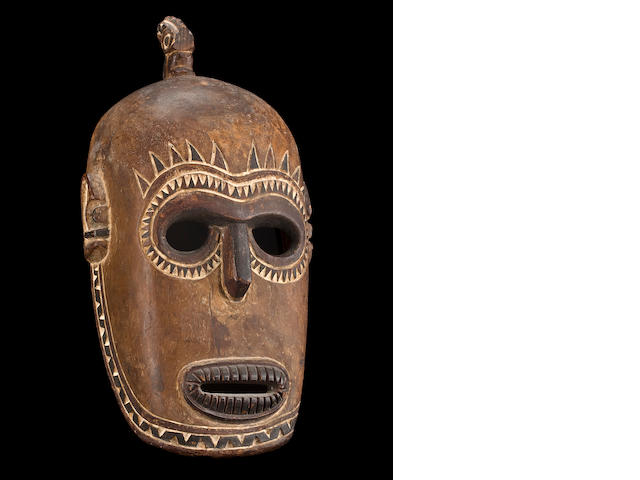 A Tami Islands mask height 15in