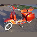 1974 Vespa Rally 200 Frame no. VSE1T0012429 Engine no. 456456