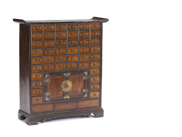 Korean Medicine Chest First half of 20th Century