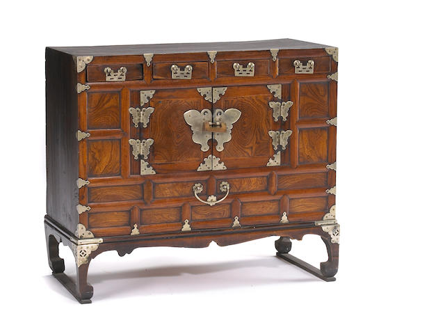 Korean double door chest on stand First half of 20th Century