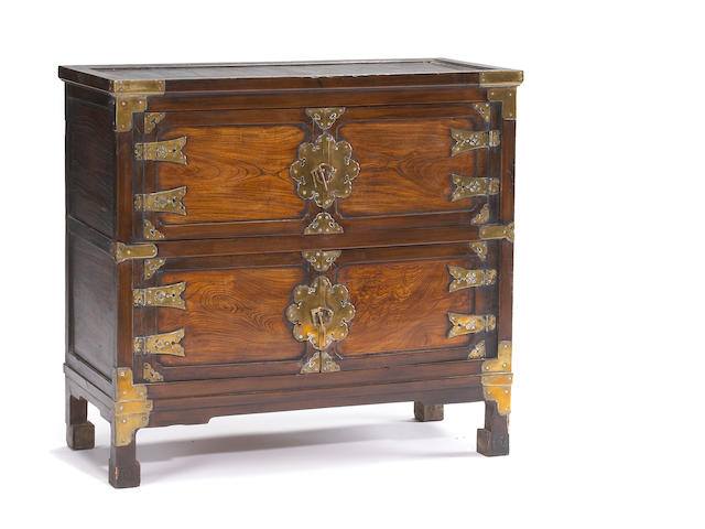 A Korean chest First half of 20th Century