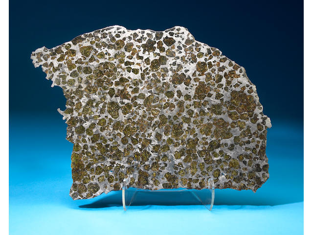 Fukang Meteorite Slice
