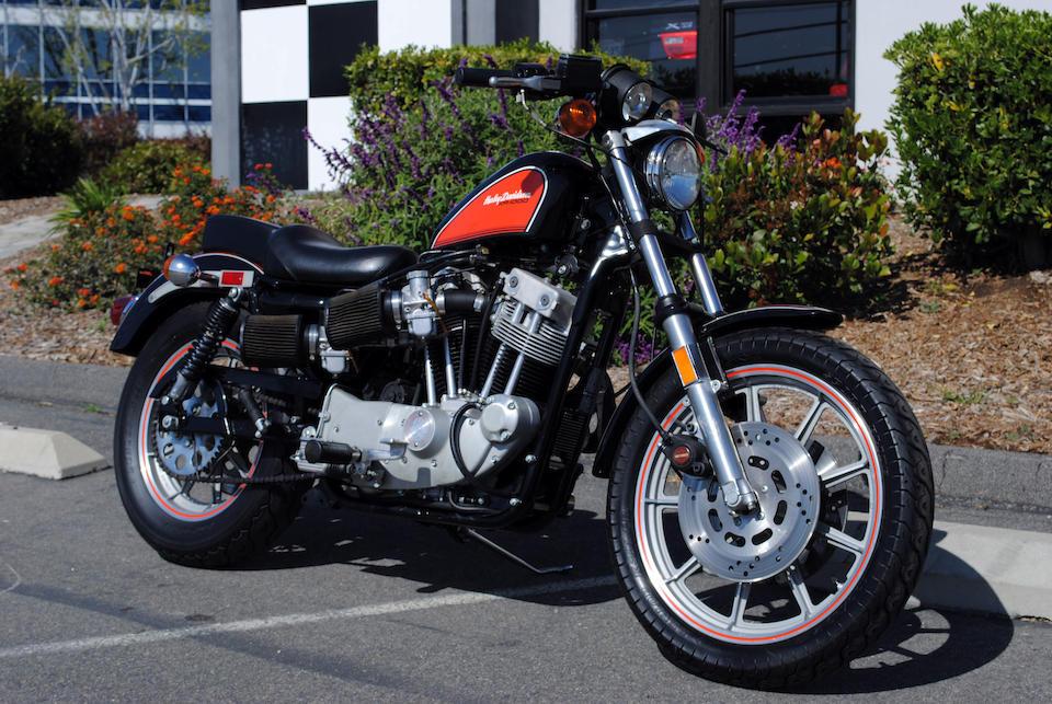 1984 Harley-Davidson XR1000 Frame no. 1HD1CDM35EY112799 Engine no. CD HE112799