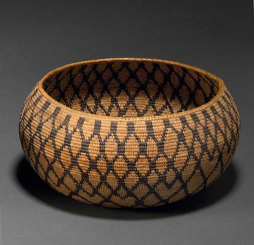 A Yokut basket