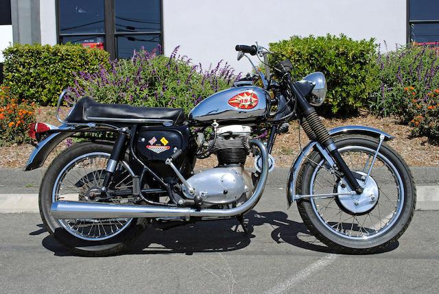 1968 BSA 650cc A65T Thunderbolt Engine No A65TB1260