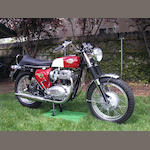 1966 BSA 654cc A65 Spitfire Frame no. A65S10922 Engine no. A65S10922