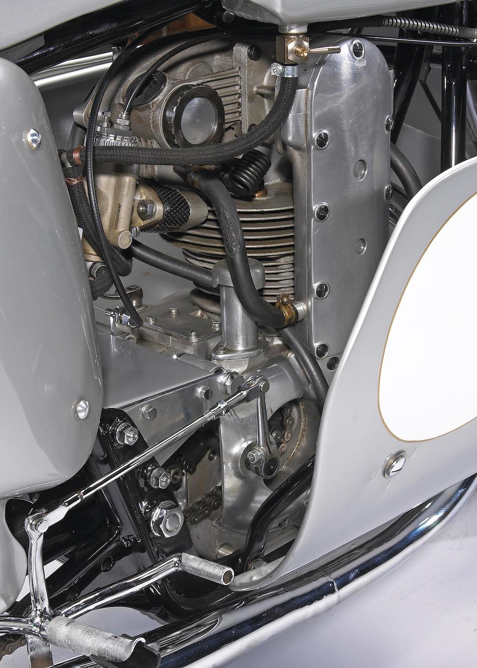 1957 Mondial 125cc Grand Prix DOHC 'Dustbin' Engine no. 106