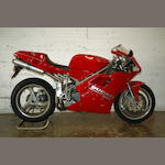 1994 Ducati 916 Frame no. ZDM1SB8S6SV000627 Engine no. SB8S000763