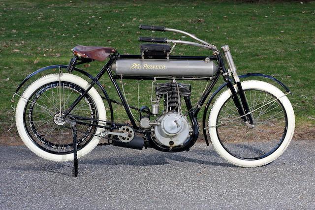 Bonhams 1910 Royal Pioneer 30 50ci Single Engine No 611