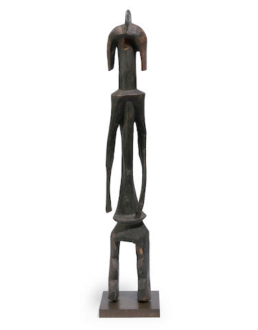 A large Mumuye ancestor figure, Nigeria
