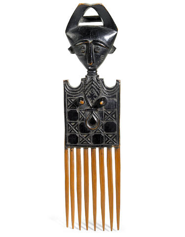 An Ashanti comb