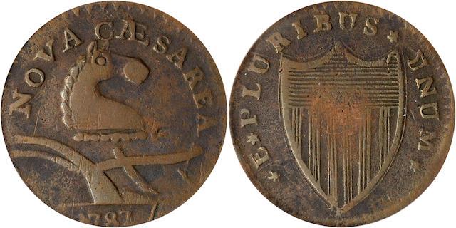 1787 NJersy VF25 PCGS Camel Head