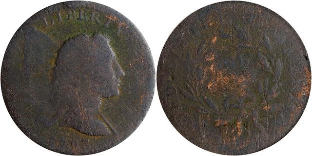 1793 1C FR02 PCGS Liberty Cap