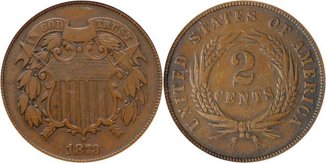 1873 2C PR30 PCGS Closed 3
