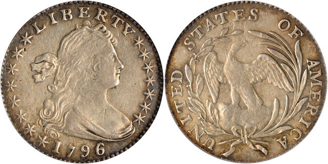 1796/5 H10C PCGS Genuine
