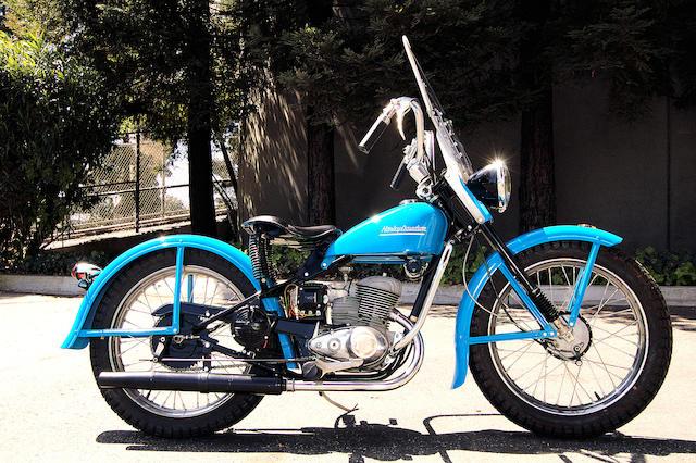 Bonhams 1954 Harley Davidson St165 Hummer Frame No 54st1423