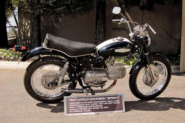 Bonhams : 1967 Aermacchi Harley-Davidson 246cc SS250 Sprint