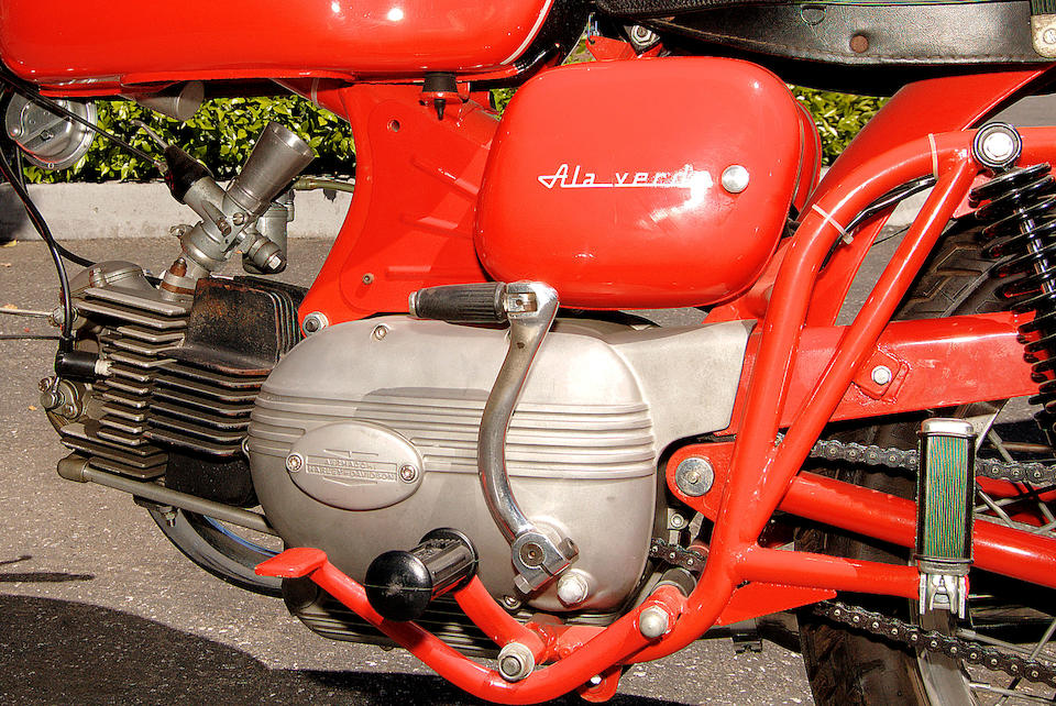 Only 2 miles from new,1968 Aermacchi Harley-Davidson 246cc Ala Verde Frame no. 224019 Engine no. 224019