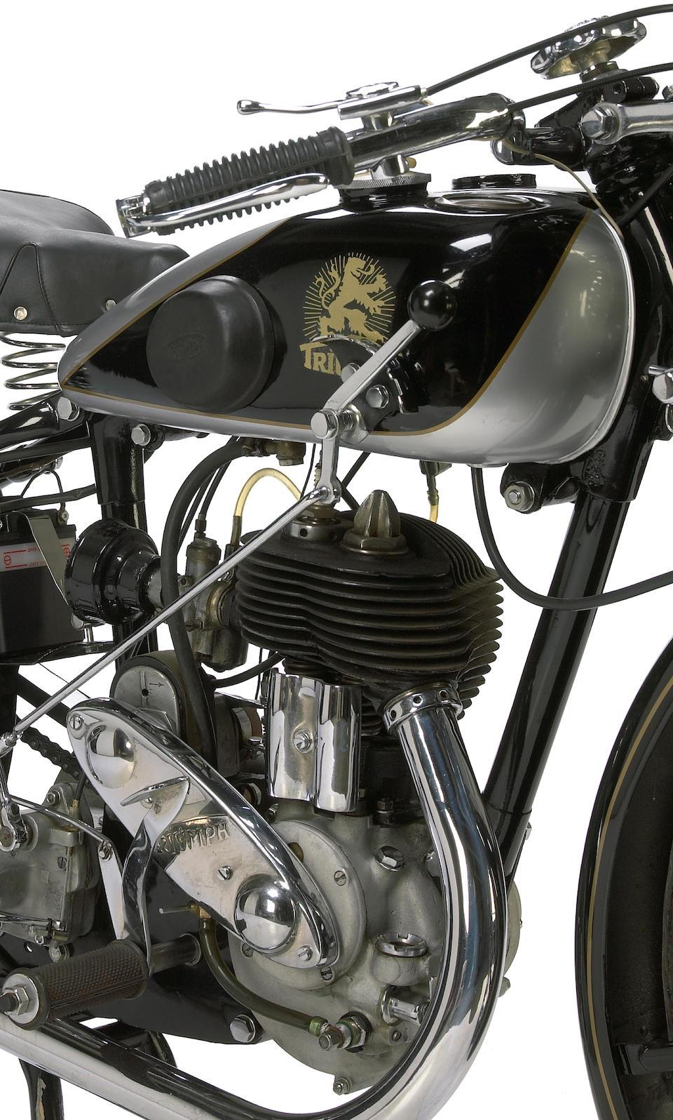 1928 Triumph 500 Nuremberg Frame no. 881908 Engine no. 1610014