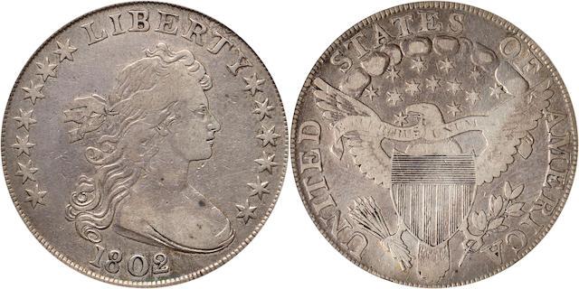1802 $1 VF25 PCGS