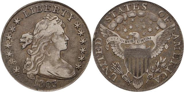 1803 $1 VF30 PCGS Small 3