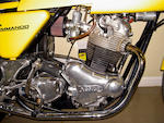 c. 1974 Norton Commando Dunstall Race Replica Frame no. 850F 11624 Engine no. 316475