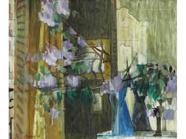 (n/a) Joseph Francis Plaskett, RCA (Canadian, born 1918) Lilac in Paris