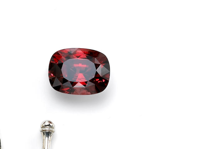Exceptionally Large and Rare Gem Red Zircon